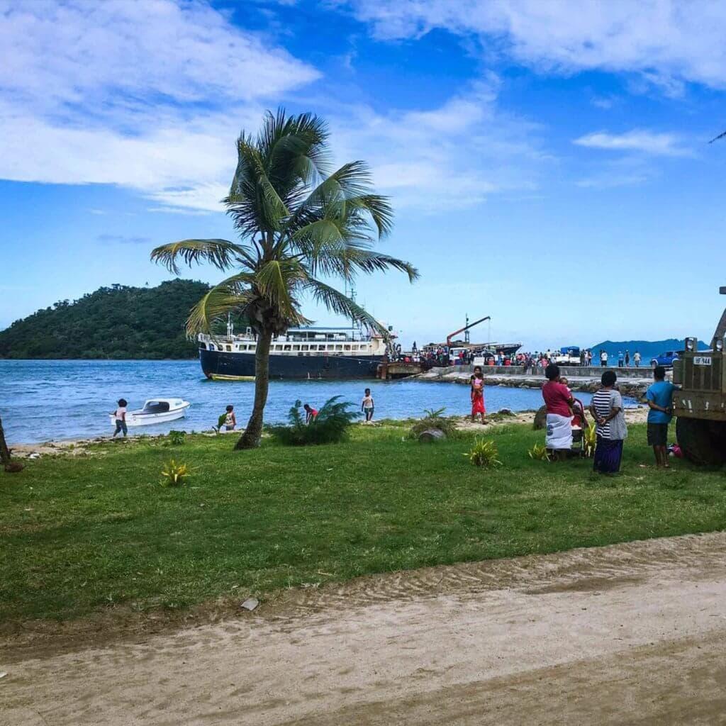 Suva, Fiji, barge, oceansouldiers, osc amanzi-wai, sportfishing camp, surfing camp